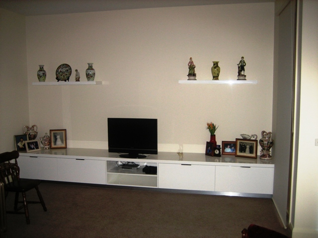 T.V Cabinet Design Melbourne | Haice Kitchens